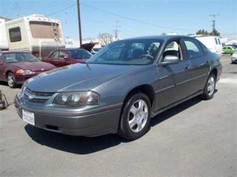 how to sell used cars 2005 chevrolet impala auto manual purchase used 2005 chevy impala no reserve in anaheim california united states