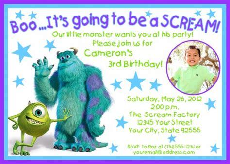 Monsters Inc Birthday Invitations Ideas Bagvania Free Printable Invitation Template Monsters Inc Birthday Invitations Template