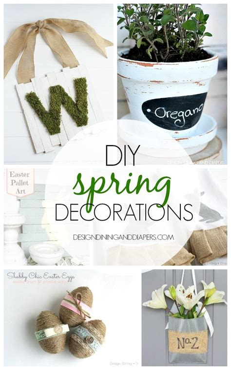 spring diy diy spring decorations taryn whiteaker
