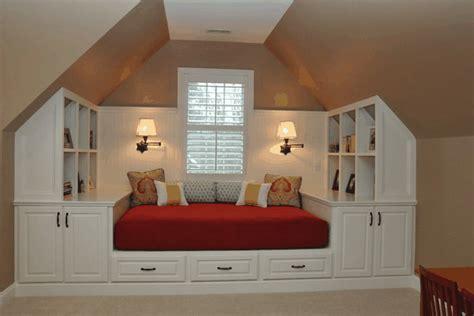 mobili per mansarda arredamenti su misura mansarda