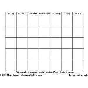 plain calendar grid printable calendar polyvore
