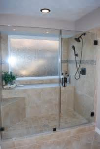 tub to shower conversion after remodel traditional