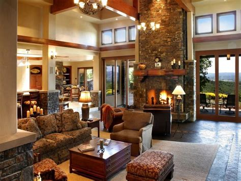 country style homes interior country living room ideas with warm and natural impression