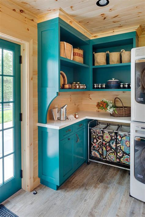 Turquoise Painted Kitchen Cabinets 361 Best Laundry Rooms Images On Pinterest Foyers Mud Rooms And Entrance