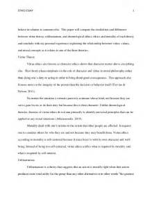 Deontological Argument Essay by Individual Ethics Essay 1