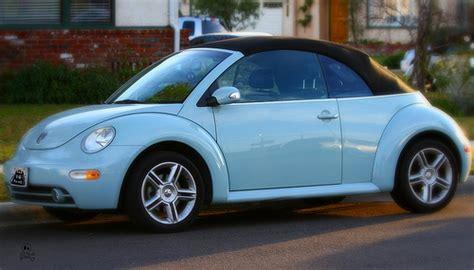 light blue volkswagen beetle rycuveunu vw beetle convertible baby blue
