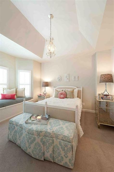 Brass Chandelier Makeover 26 Dreamy Feminine Bedroom Interiors Full Of Romance And