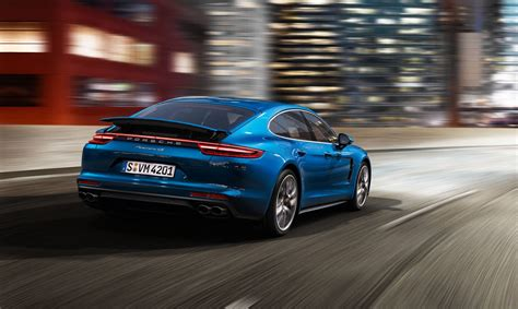 blue porsche panamera 2017 world premiere of the new 2017 porsche panamera