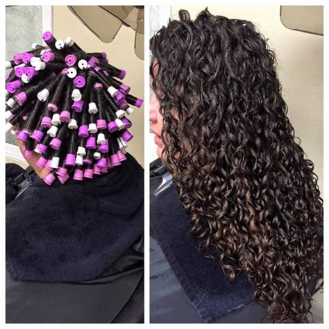 diy perms for women beautiful perm showing the wrap perming pinterest
