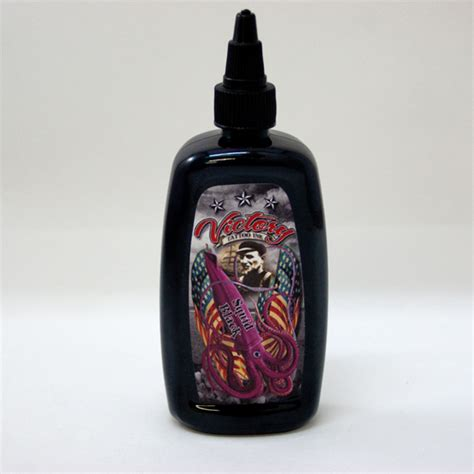 victory tattoo ink victory ink usa made 4oz squid black ink vi