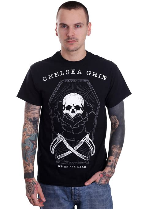 Tshirt By Chelsea Shop chelsea grin coffin t shirt official metalcore