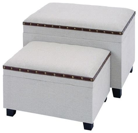 unique ottoman unique charming burlap ottoman set contemporary