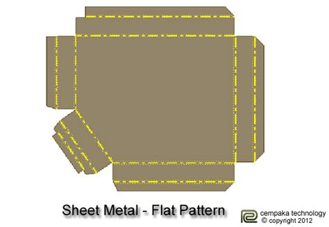 flat pattern drawing inventor autodesk inventor 2013 workshop