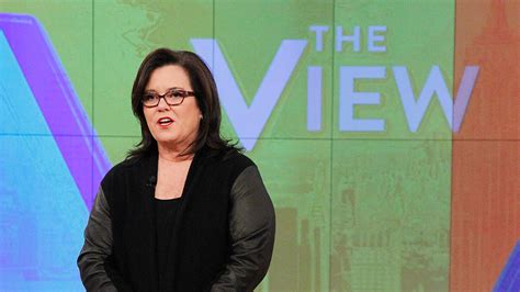 Rosie Odonnell Leaving The View by The View Rosie O Donnell Addresses Departure In New