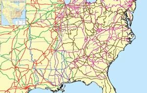 map of railroad tracks in usa interactive maps of u s freight railroads acw railway