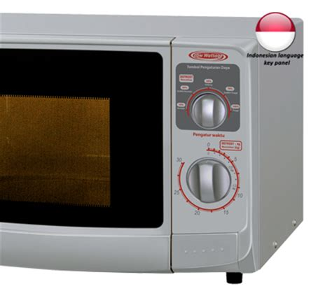 Oven Watt Rendah microwave sharp r 222 y didik elektronik