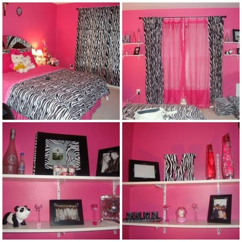 Pink Zebra Home Decor | pink zebra print room beautiful pink decoration