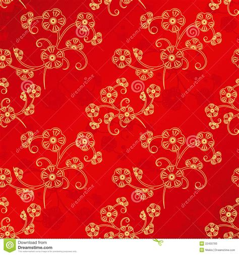 new year flower pattern new year seamless pattern stock vector