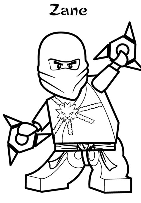 black ninjago coloring pages zane ninjago coloring pages cartoon coloring pages of