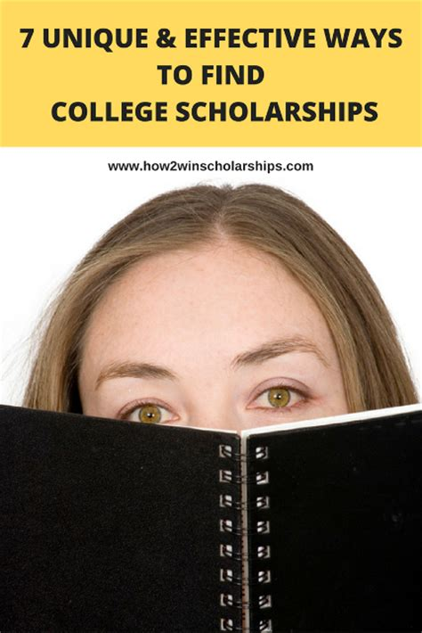7 Uncommon Ways To Find A 7 unique and effective ways to find college scholarships