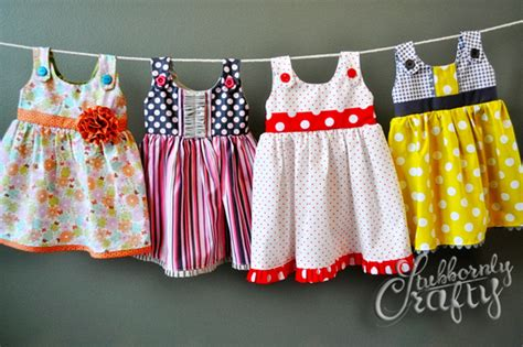Handmade Dresses For Babies - itty bitty handmade baby dresses stubbornly crafty