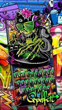graffiti skull dj  keyboard theme apk