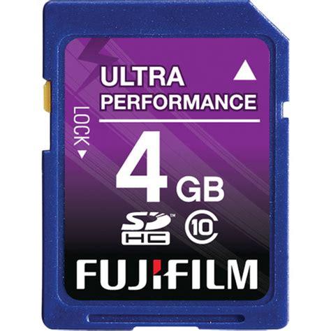 Memory 4gb Class 10 Fujifilm 4gb Sdhc Memory Card Class 10 600008928 B H Photo