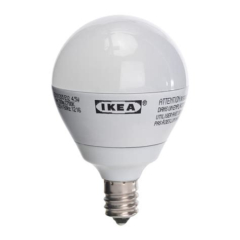 Ikea Light Bulbs ledare led bulb e12 ikea