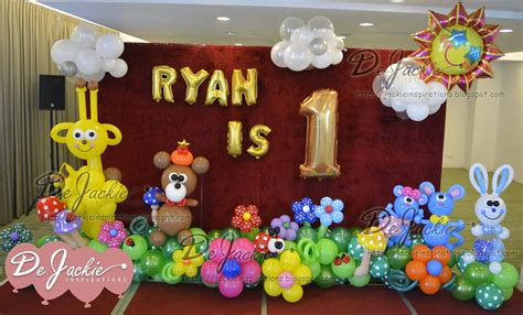 1st birthday decoration at home decorations home balloon birthday parties tierra este