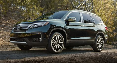2019 Honda Pilot by Facelifted 2019 Honda Pilot Arrives With New Tech And