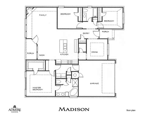 one madison floor plans madison admire custom homes