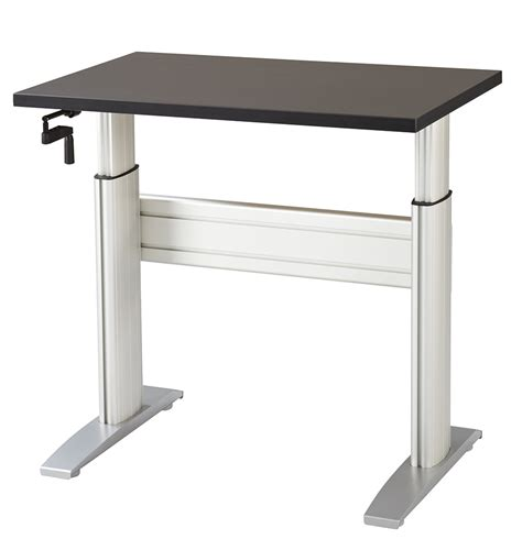 Desk Top Height by Install Adjustable Height Computer Desk Decorative