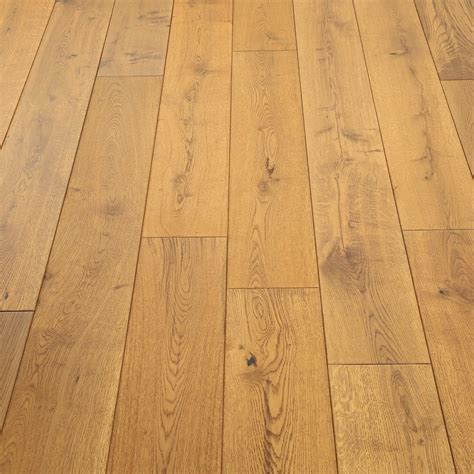 Distressed Engineered Flooring - distressed farmhouse oak lacquered engineered wood
