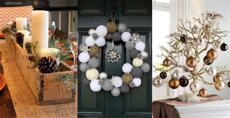 imagenes navidad modernas decoracion de interiores de casas para navidad