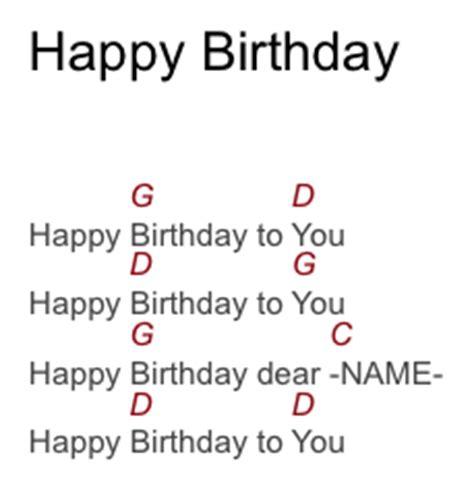 tutorial gitar happy birthday may 2013 birthday