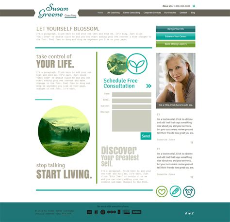 15 Best Consulting Coaching Website Templates And Themes Coaching Flyers Templates