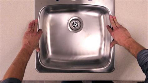 install drop in sink without rona how to install a kitchen sink