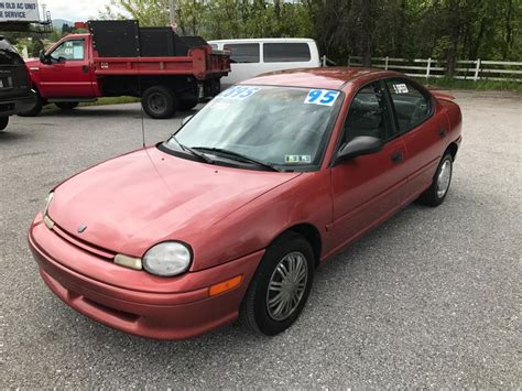 car owners manuals for sale 1995 dodge neon electronic toll collection 1995 dodge neon for sale 16 used cars from 480