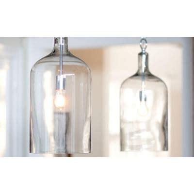 The Home Decorators home decorators collection capri 1 light clear pendant
