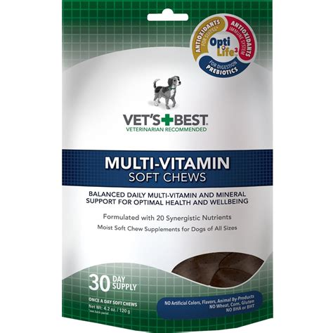 vet recommended chews vet s best multi vitamins soft chews 30 count healthypets