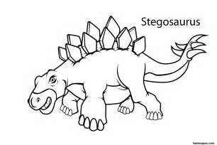 dinosaur coloring pages printable printable dinosaur stegosaurus coloring pages printable
