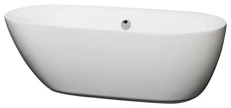 65 inch bathtub melissa 65 inch deep soaking bathtub in white