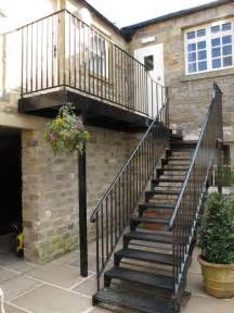Outside Handrails For Stairs Staircases Amp Walkways Ironart Of Bath