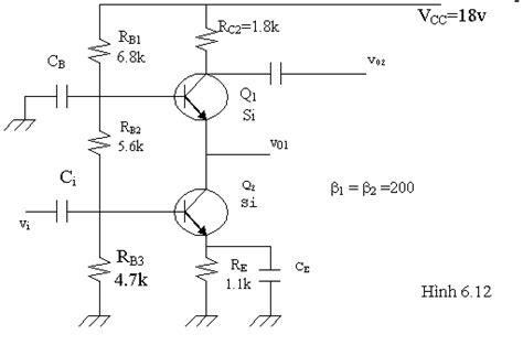 transistor trong li chương 6