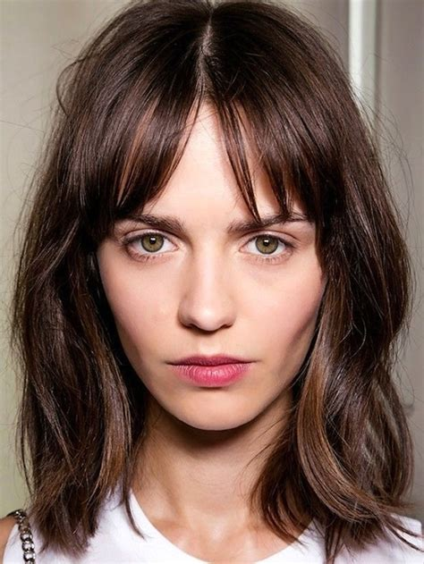 lob hairstyles with bangs 40 cool lob hairstyle inspirations to give that wow factor