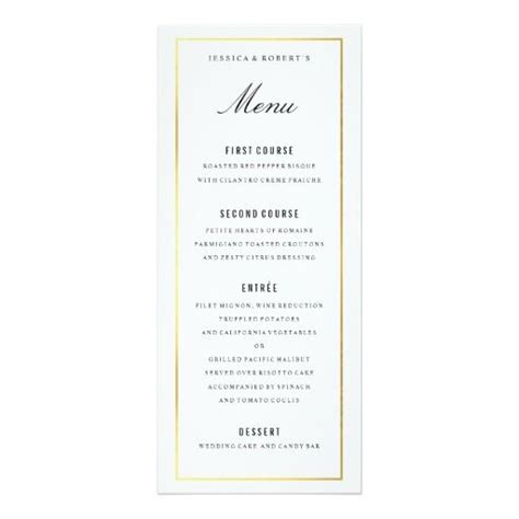 1000 ideas about wedding menu template on pinterest