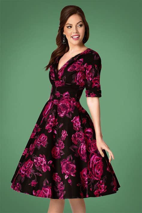 swing kleid pink vintage inspired valentines day dresses skirts