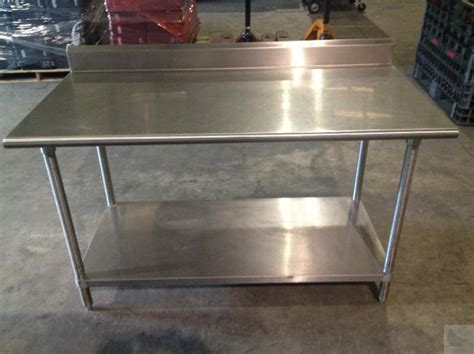 Used Stainless Steel Countertops For Sale 5 stainless steel commercial kitchen counter with table