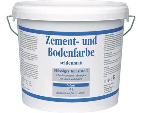 Balkon Farbe Boden by Acryl Zement Und Bodenfarbe 5 0 L Bei Hornbach Kaufen