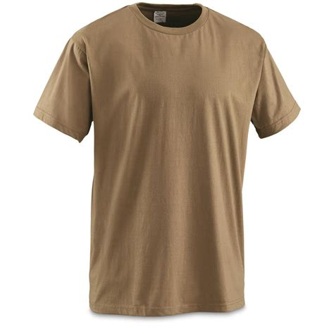 T Shirt 6 u s surplus ocp coyote t shirt 6 pk new 677924 shirts at sportsman s guide